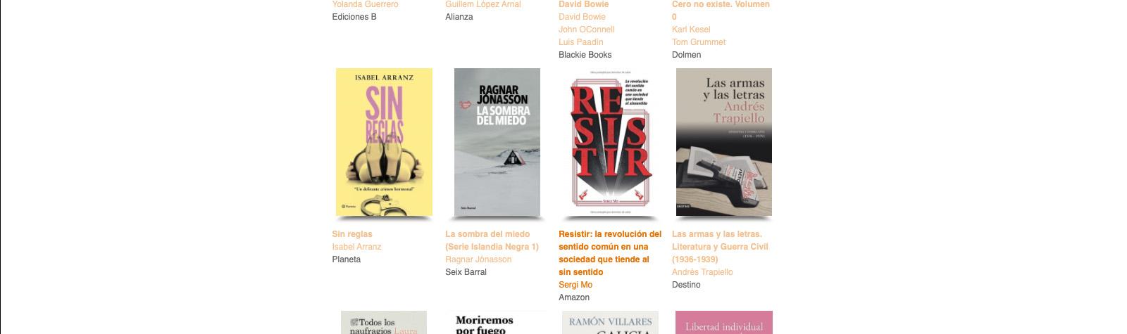 El blog literario pionero en España reseña Resistir